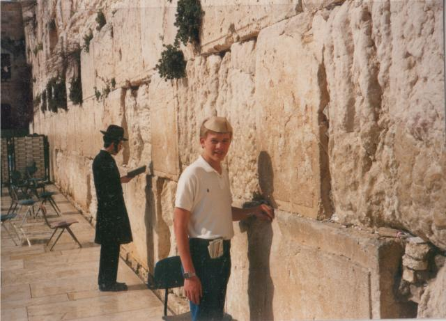 Old City, Jerusalem, Israel, Age 13