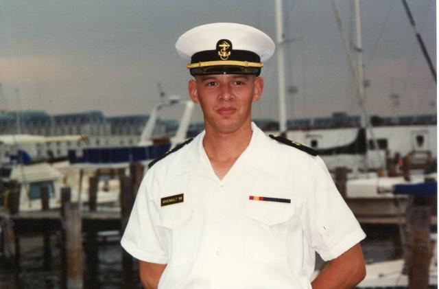 Trent was nominated to the US Naval Academy by US Senator Rev. Jack Danforth of Missouri (Annapolis, Maryland, Age 18)